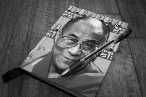 Dalai Lama journal and pen