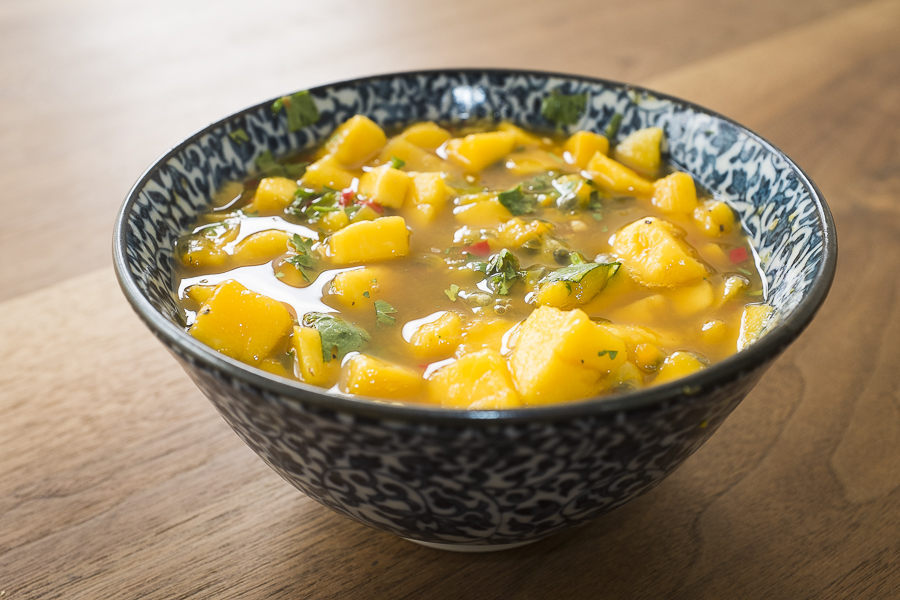 mango and passionfruit salsa