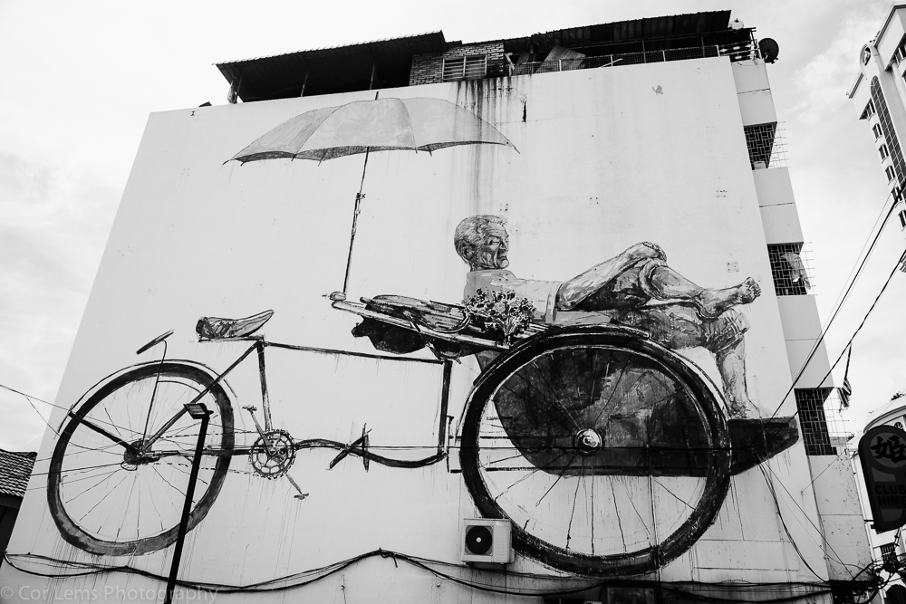 Rickshaw streetart, Chinatown