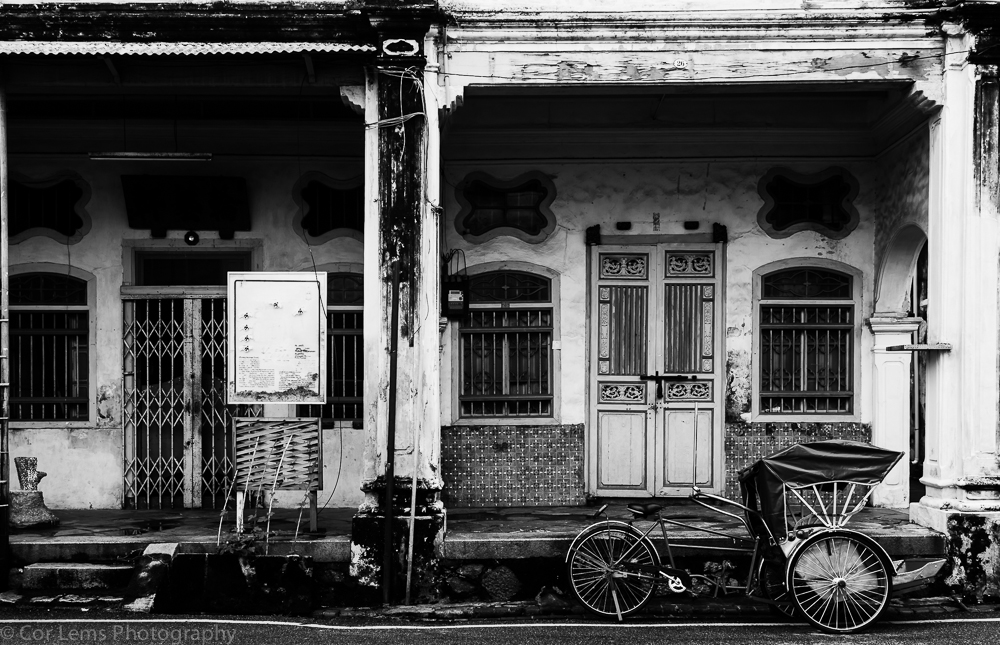 Old shophouses in Lorong Stewart Street