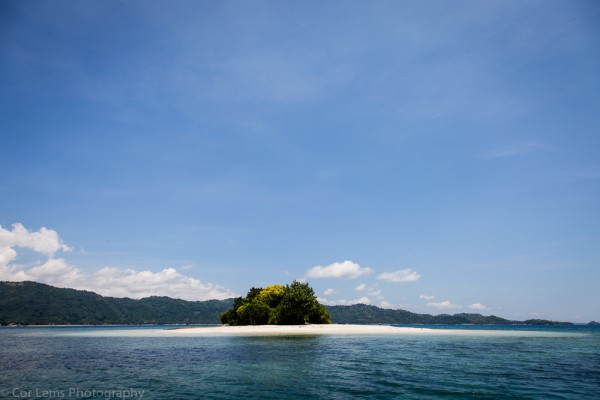 Little island in the Secret Gili Islands, Sekotong, Lombok Islan