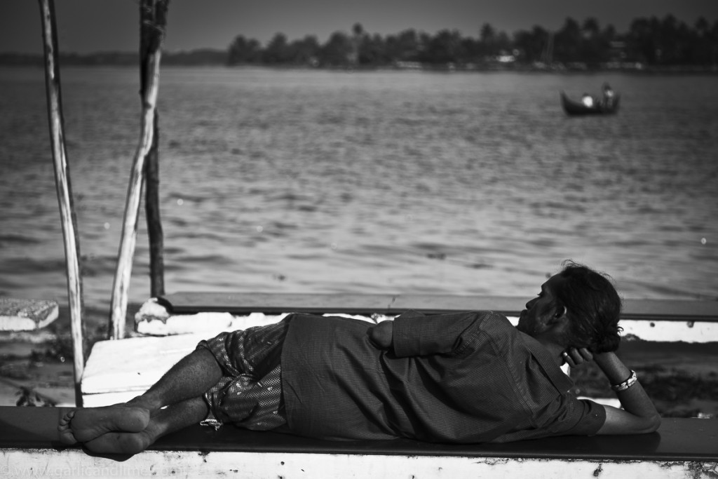 Watching the world go by, Fort Cochin, Kerala, India (December 2