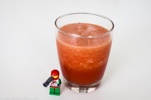 Pineapple and watermelon juice