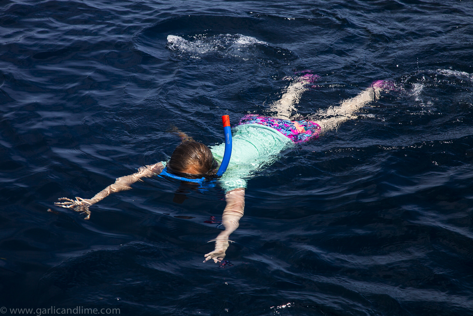 Lois snorkeling, Pulau Bunaken, Sulawesi, Indonesia