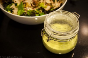Avocado Vinaigrette dressing