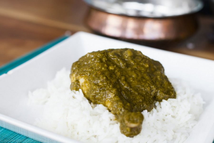 Indian Palak Chicken
