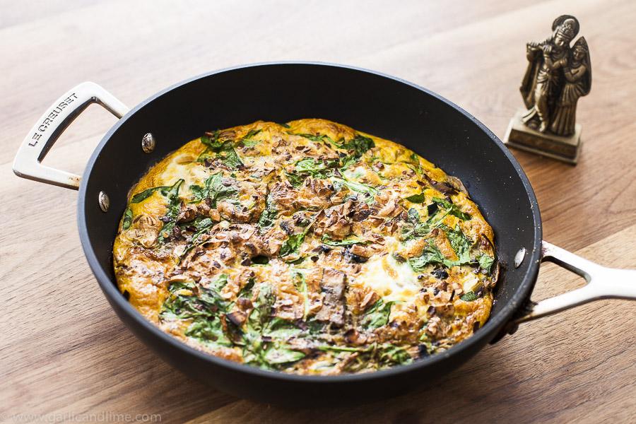 Healthy Veggie Omelette